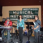 Peepshow Trio (Scott Breadman, Amy Engelhardt, David Joyce and me) at Westwood Music