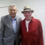 Ed Ames and I sang a 4th of July concert.